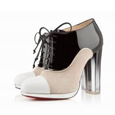 Christian Louboutin Ettora Heels-Fierce Louboutin Heels For The Anti-Louboutin Girl Suede Leather Shoes, Black Suede Boots, Black Ankle Booties, Ankle Boots, High Heel Boots, Shoe Boots, High Heels, Women's Shoes, Dress Shoes