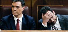 Pedro Sánchez fracasa en la segunda votación para su investidura El líder del PSOE no alcanza la mayoría necesaria y se abre una etapa sin precedentes en España Pedro Sánchez y Antonio Hernando, durante la sesión de este viernes en el Congreso.