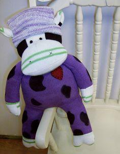"""Sock Cow Doll - Clover 20"""" $14.95"""