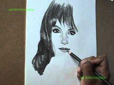DIBUJAR UN RETRATO CON LÁPIZ DE GRAFITO SUAVE- Ejercicios de Dibujo Artístico PROFESIONAL - YouTube