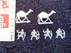 15mm Camels Riders War Games Soldiers White Metal Military Figures #