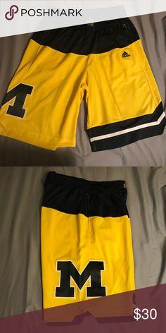 9d4c21e102094d Adidas Michigan swingman basketball shorts M Worn once no flaws. Nike  Jordan Kobe lebron kyrie