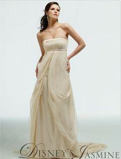 Beautiful Kirstie Kelly for Disney Jasmine wedding gown