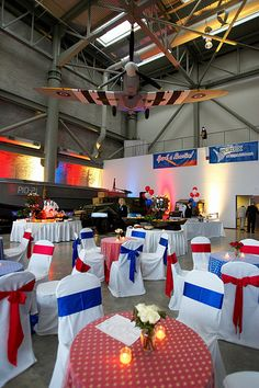 Berlex @ WWII Museum  The National World War II Museum is the perfect place to host an American themed party.