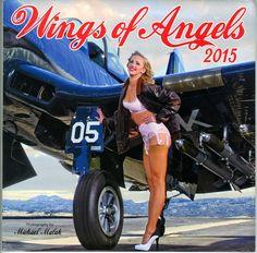 Wings of Angels 2015 Pinup Calendar, Michael Malak