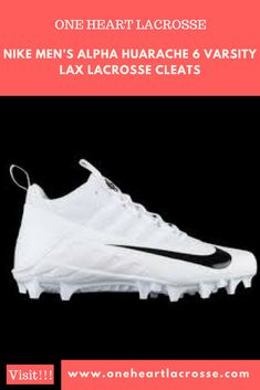 reputable site 206b1 c69f0 See the best lacrosse cleats and more at OneHeartLacrosse.com! Sports  Equipment, Lacrosse
