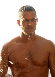 Paul Walker- aside from the cars this is definitely one of the reasons fast and furious movies are sooo amazing!!!