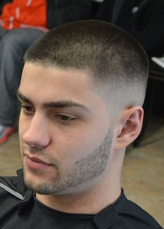 Men's hairstyles.