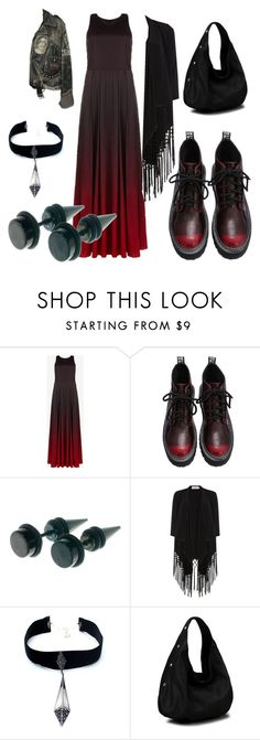 """""""fade to black"""" by monarchsarah ❤ liked on Polyvore featuring Ted Baker, Soaked in Luxury, Child Of Wild and Diophy"""
