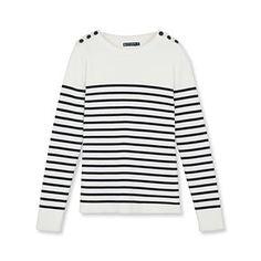 Petit+Bateau:+Women's+striped+sailor+sweater