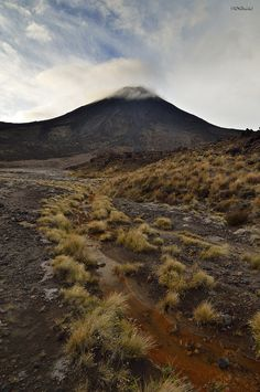 Mount Ngauruhoe, NZ