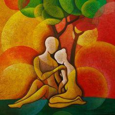 ART bySunita Khedekar You transform allwho are touched by you.Mundane concerns, troubles,and sorrows dissolvein your presence,bringing joy.~ Rumi