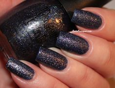 Finger Paints // Sparkle in the Sky: is a gorgeous deep navy blue with tons of sparkle. It really does look like the night sky! Right now they are on sale at Sally Beauty for $3.99.