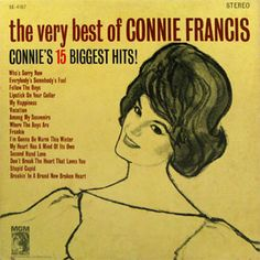 Shop The Very Best of Connie Francis [CD] at Best Buy. Find low everyday prices and buy online for delivery or in-store pick-up. Connie Francis, Childhood Stories, Easy Listening, Vintage Vinyl Records, Music Library, Album Book, Pop Singers, Lp Vinyl, My Favorite Music