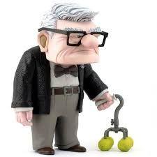 Carl Fredricksen, Best Kid Movies, 3d Character, Pixar, Cool Kids, Comic Art, Action Figures, Toys, Drawings