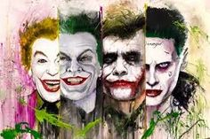 Jokers by Rob Prior. ❣Julianne McPeters❣ no pin limits Joker Dc, Joker And Harley Quinn, Comics Toons, New Art, Pop Culture, Geek Stuff, Photo And Video, History, Instagram Posts