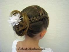 Bug's Baptism Hairstyles | Babes In Hairland