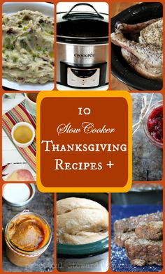 Reduce Stress: 8 Crock-pot Recipes for Thanksgiving + a Few Other Thanksgiving Recipes - Practical Stewardship