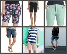 Modest Shorts - Mein Stil / Dinge, die ich will - . - Daily DIY by Hannah - shorts Modest Shorts, Long Shorts, Summer Shorts, Short Outfits, Cute Outfits, Nike Shorts, Jean Shorts, Boyfriend Shorts, Mommy Style