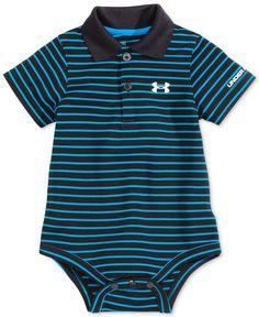 Under Armour Baby Boys' Short-Sleeve Polo-Style Bodysuit