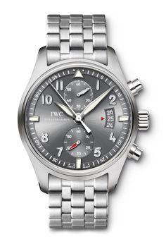 Men's IWC Pilot's Watch Spitfire Chronograph Watch IW387804