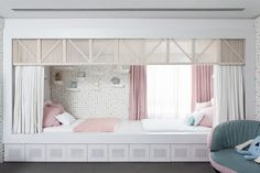 projeto 897 Dream Rooms, Kidsroom, Bay Window, Kids Playing, Kids Bedroom, Toddler Bed, Sweet Home, House, Furniture