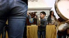 Saggio di tamburello nel Castello di Carovigno