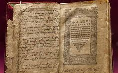 Katherine's personal copy of Sermon of Saint Chrystosom Jean shows me exquisite prayer books written by Katherine herself, one stitched into a valuable binding by the nuns at nearby Little Gidding. When Henry died, she stored her jewels, many of which were her own, in the Tower, but Edward Seymour – her new husband's even wilier brother and the young king's protector – wouldn't give them back. In one letter she writes that she hates him so much she would like to bite him.