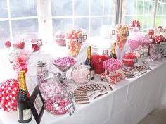 wedding candy bar - Google Search