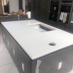 Aspen De Lusso- Croydon, London - Rock and Co Granite Ltd Croydon London, Dark Grey Color, Aspen, Granite, Color Schemes, Kitchens, Home Decor, R Color Palette, Decoration Home