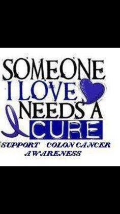 Colon cancer awareness.