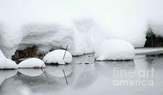 Snow Balls, Upper Michigan by: © Michael Ray. Dress up your walls at home or the office. Also, great as gifts for the fine art lover. All pieces in my fine art gallery are available. http://fineartamerica.com/profiles/3-michael-ray.html