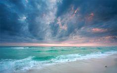 Pensacola Florida beaches. Pure white sand.
