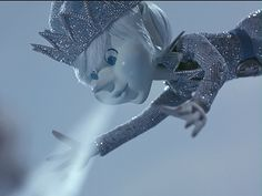 Jack Frost! Click here to see a tutorial for some amazing winter makeup