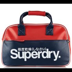 ee16d01474 Superdry unisex court carrier sports bag in red These are absolutely  awesome and cool. I