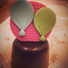 Mini bolo de Nutella
