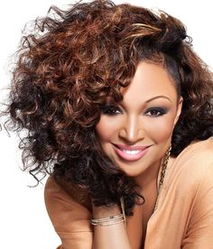 The beautiful Songstress Chante Moore is an American R&B and jazz singer.