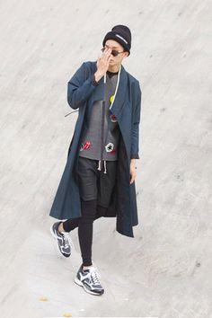 서영희 샘 한복 스트릿패션  HANBOK(Korean traditional costume) mixed in Street Style way from http://pfmag.kr/