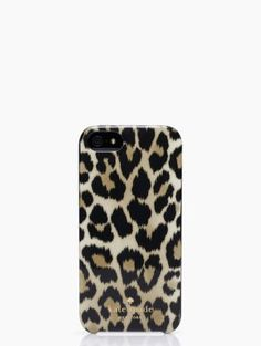Animal print iPhone