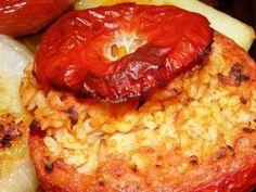 Tomatoes stuffed with rice    Pomodori ripieni di riso - Le ricette di Buonissimo!
