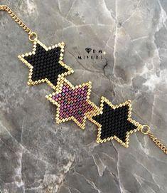Beaded Bracelet Patterns, Beaded Earrings, Beading Patterns, Beaded Bracelets, Beading Tutorials, Bead Jewellery, Seed Bead Jewelry, Seed Beads, Diy Jewelry