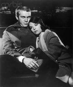 Steve McQueen and Natalie Wood