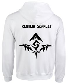 REMILIA SCARLET TouHou Project Hoodie Coat Animation Comic Cosplay Fashion