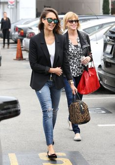 Image result for jessica alba street style