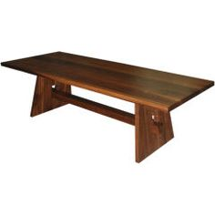 Dining Table in Black Walnut- Graham could model ours after this one