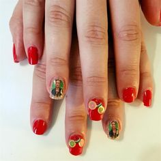 Day 126: Frida Kahlo Nail Art - - NAILS Magazine