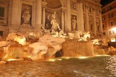 Rome, Italy - Trevi Fountain