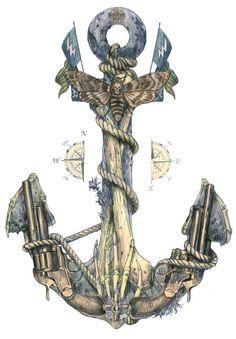 anchor art