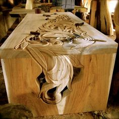 Awesome carving