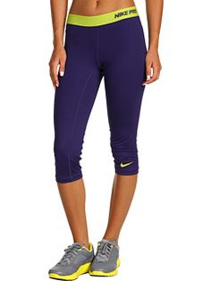 Nike Pro Compression Capri-these are my fave to run in!